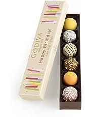 Godiva Chocolatier Happy Birthday Cake Chocolate Truffle Flight Great For Any Gift