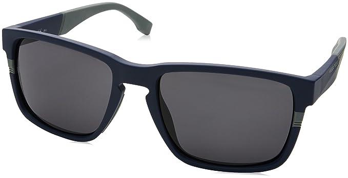 BOSS Hugo Hombre 0916/S IR 1X4 Gafas de sol, Azul (Mtbluee ...