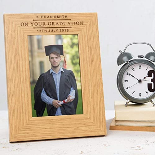 amazon com engraved graduation picture frame personalized