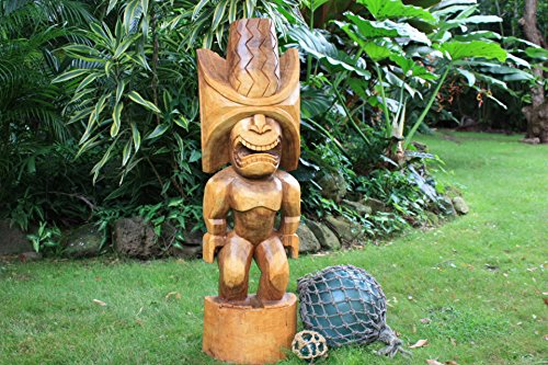 Ku-Kona-Style-Tiki-48-Natural-Traditional-Hawaii-Museum-Replica
