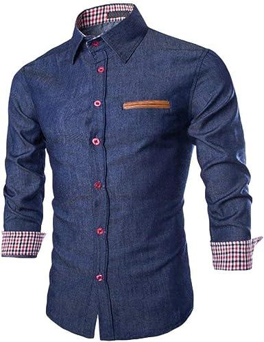 Camisa De Hombre Camisa Manga Larga Camisa Casual Moda Camisa ...