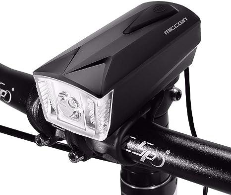 SLGJYY Control Remoto – Timbre para Bicicleta y Foco LED, USB ...