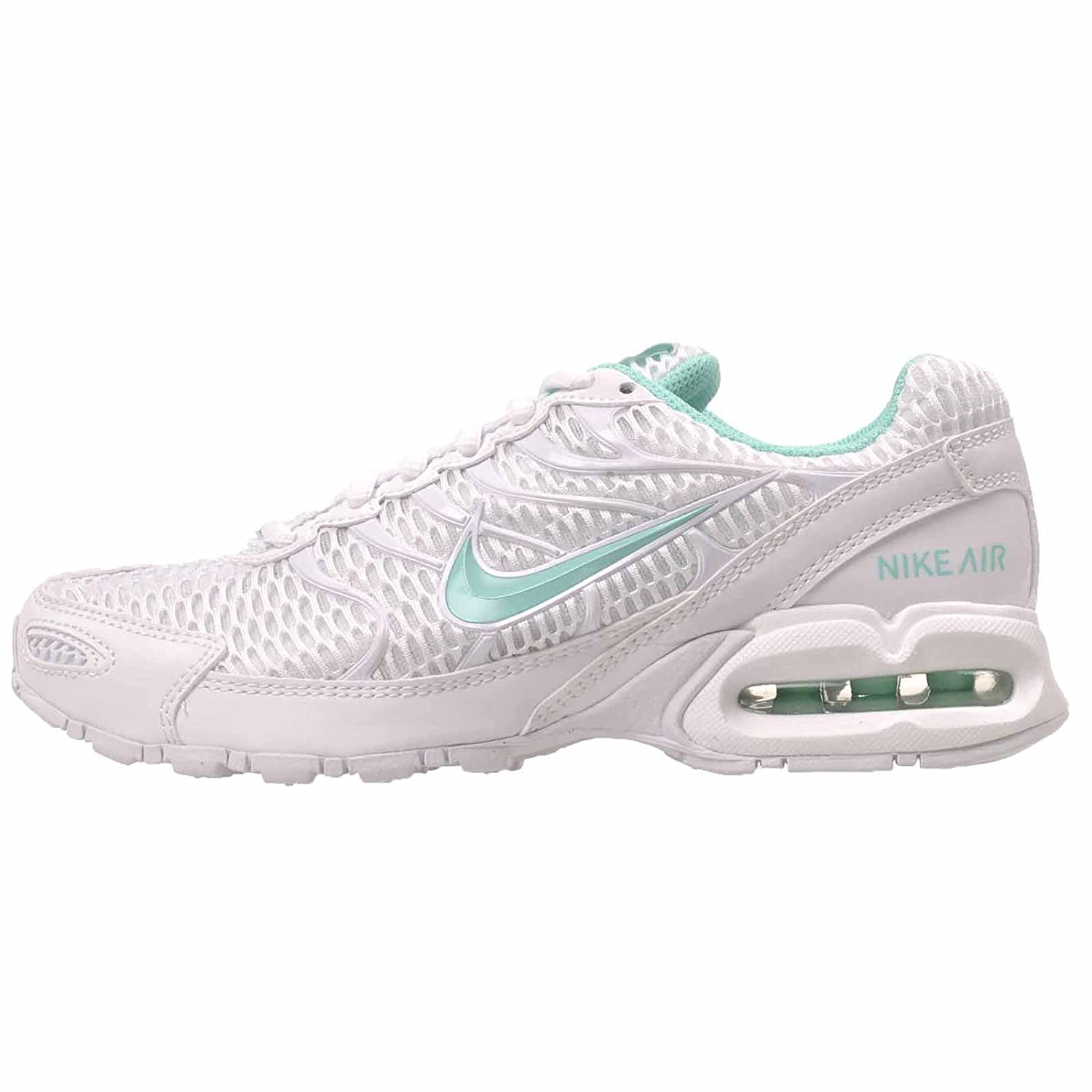 NIKE Women's Air Max Torch 4 Running Shoe B074HX817H 9.5 B(M) US|White/Hyper Turquoise