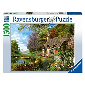 Country Cottage Jigsaw Puzzle, 1500-Piece
