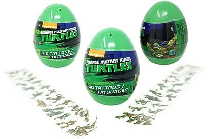Amazon.com: Teenage Mutant Ninja Turtles Eggs with Temporary ...
