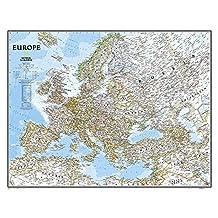 Europe Classic (Laminated)