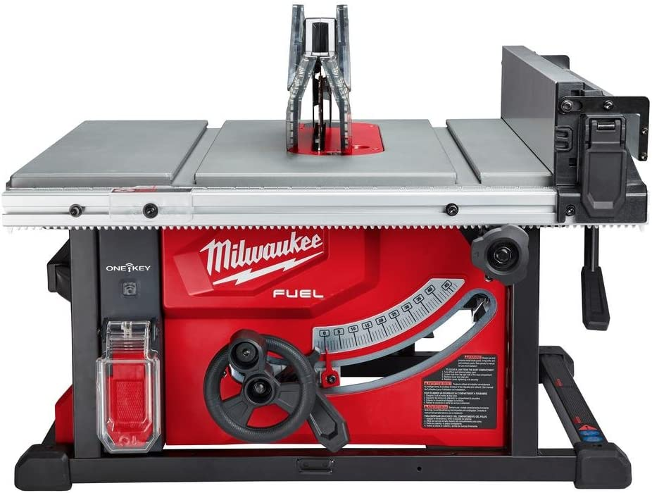 Milwaukee M18 FUEL ONE-KEY 18-Volt Lithium-Ion Brushless Cordless 8-1 4 in. Table Saw Kit W 1 12.0Ah Battery Rapid Charger