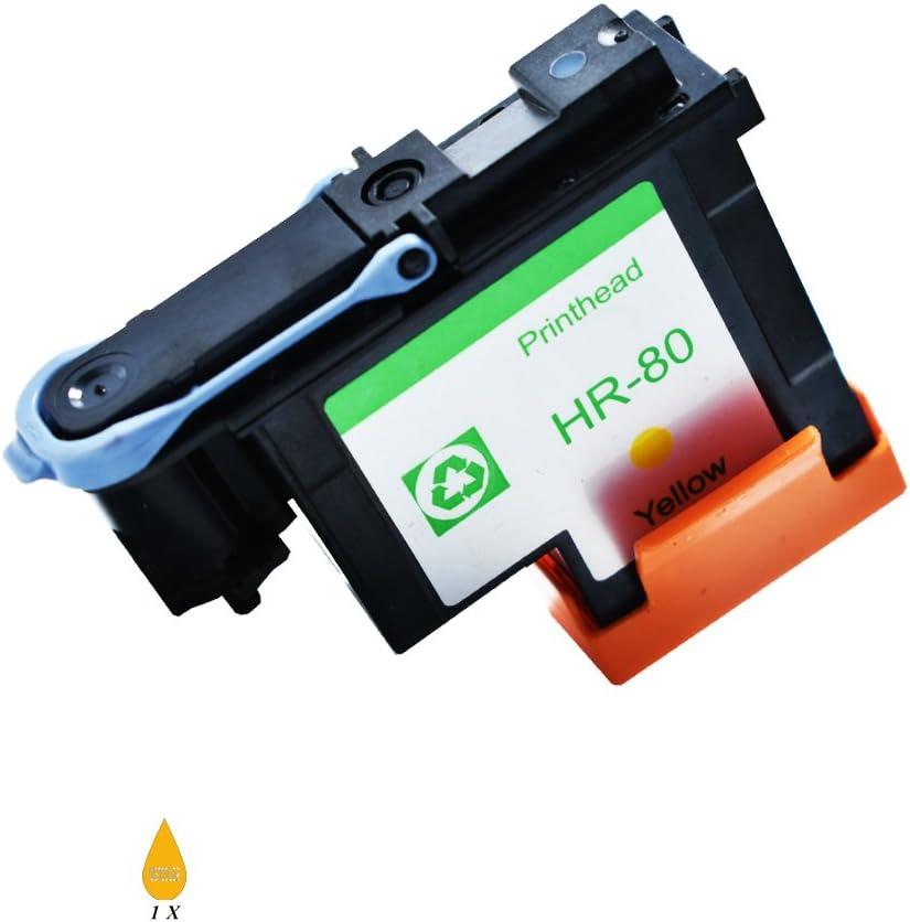 JUSTCOLOR compatible HP80 HP 80 con nuevos chips actualizados para ...
