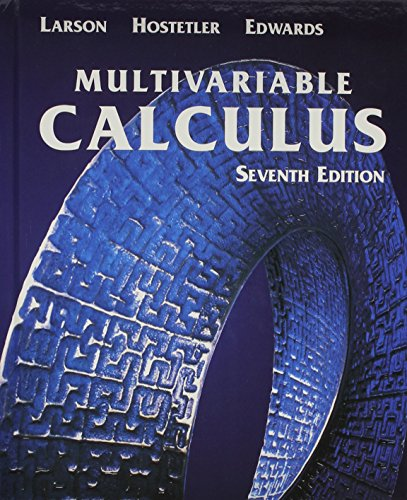 Multivariable Calculus With Learning Cd Seventh Edition