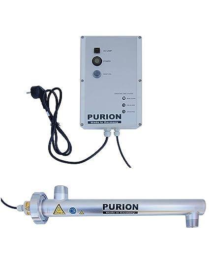 Tratamiento de agua PURION 1000 con sistema UV para una casa ...