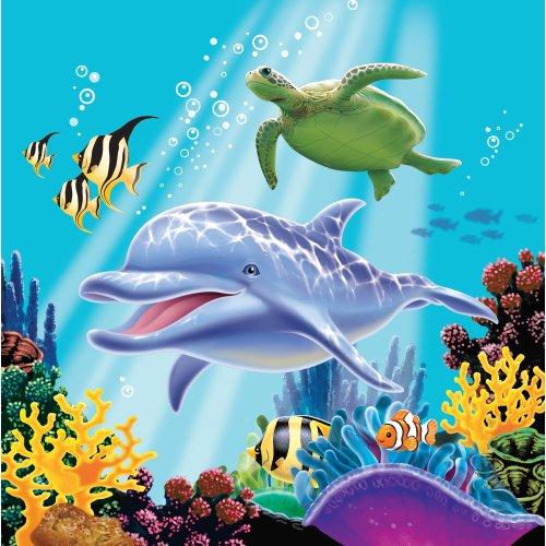 Creative Converting Ocean Party Napkins
