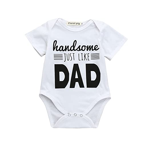 06b4db69120f4 Amazon.com: Pocciol Newborn Kids Fashion Romper Baby Boys Girls Cute ...