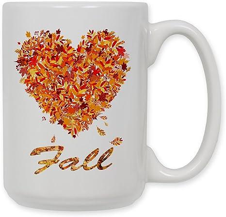 Fall Mug Pumpkin Spice Coffee Cup Latte Mugs With Sayings Fox Favorite Season
