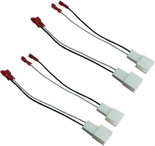 DKMUS 2 Pares de Cables de Alambre Arnés para Toyota Scion Ponitac ...