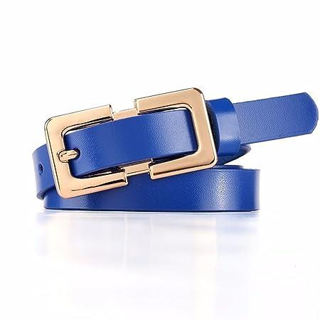 LANCHONGNYD Cinturón de Moda cinturón para Mujer cinturón Casual ...