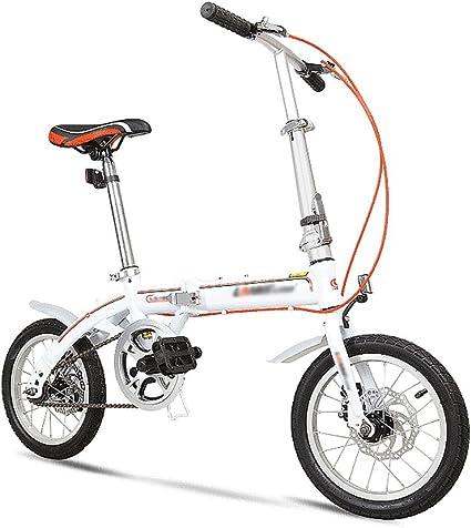 LI SHI XIANG SHOP Bicicleta Plegable de 14 Pulgadas niños ...