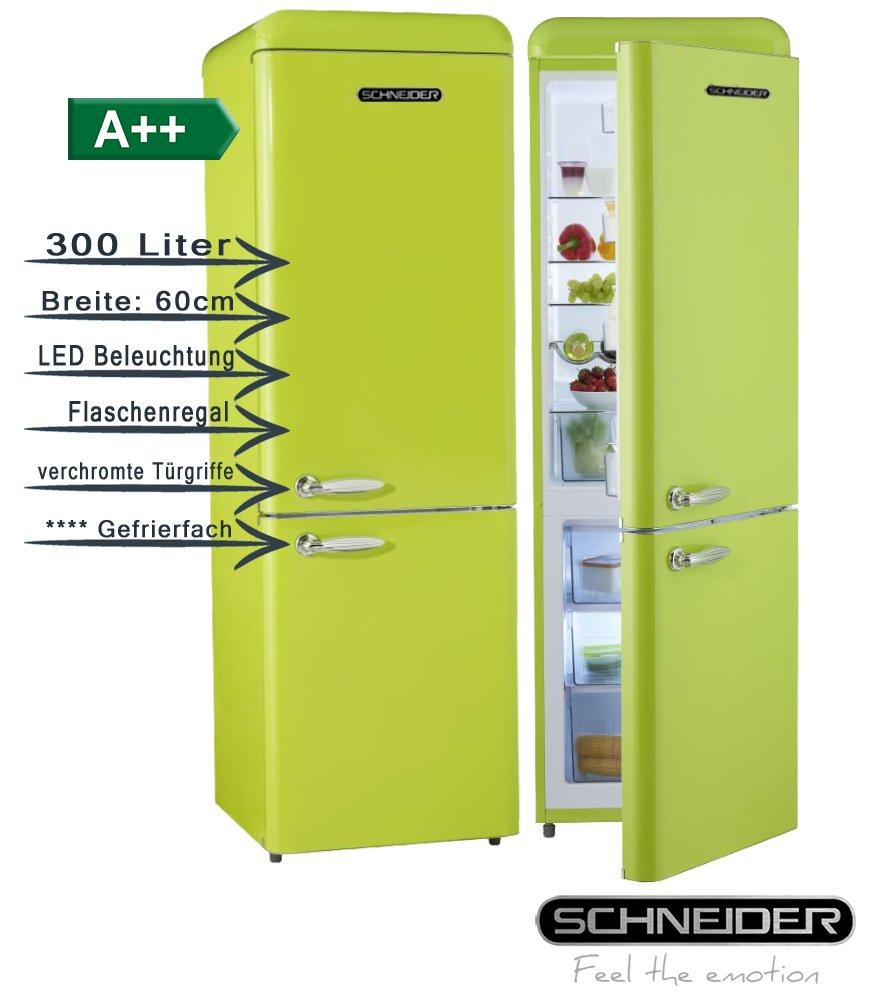 Schneider SL300 LG CB a + + Retro Diseño nevera y congelador ...