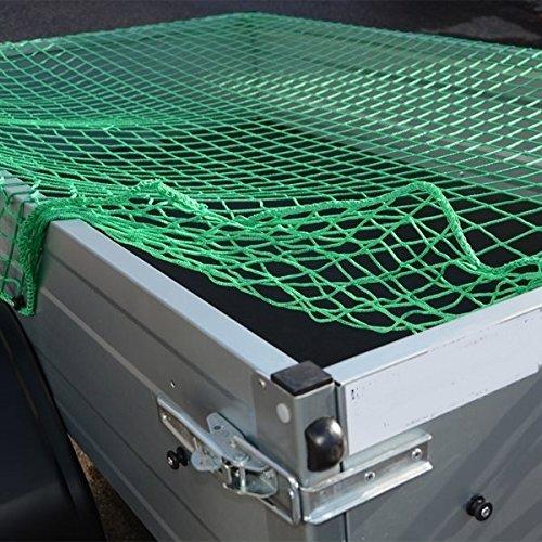 Systafex Praktisches Anh/ängernetz 3 x 6 m Gep/äcknetz Transportnetz Abdecknetz Spannetz Sicherungssnetz Containernetz f/ür PKW-Anh/änger zur Ladungssicherung Dehnbar