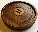 Wine Barrel Monogram and Personalized Lazy Susan