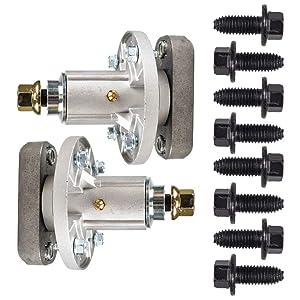 8TEN 2pk Deck Spindle Assembly John Deere L100 L105 L107 L108 L110 L111 L118 Sabre 1642HS 1742HS Scotts L1742 GY20050 GY20785
