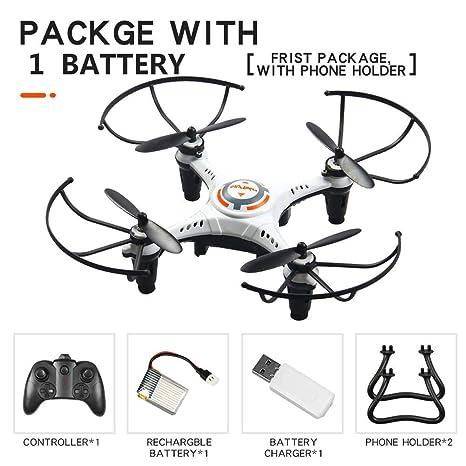JX815-2 Mini Drone Para Niños, 2.4Ghz 6-Axis Gyro RC Quadcopter ...