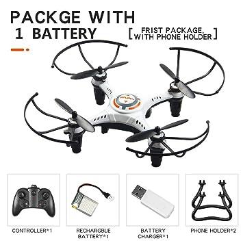 JX815-2 Mini Drone para niños, 2.4Ghz Control Remoto Helicóptero ...