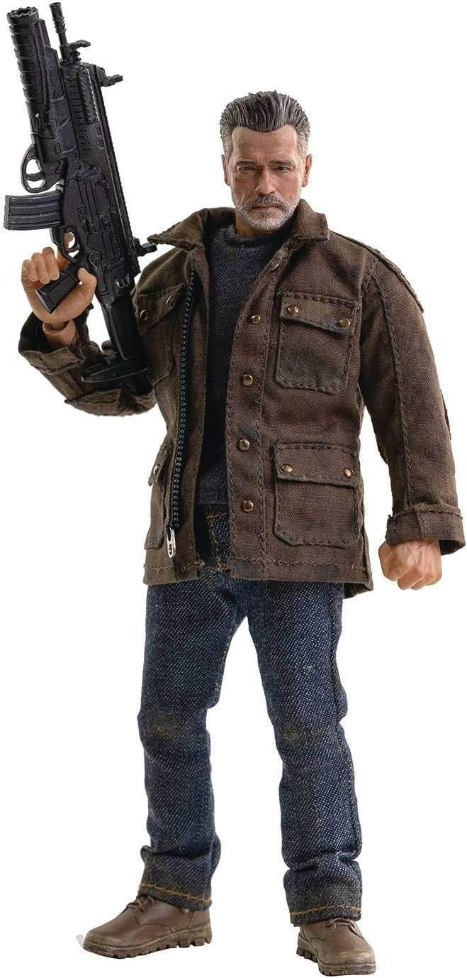 "Dark Fate T-800 7/"" Action Figure 5/""-7/"" Figures--Terminator"