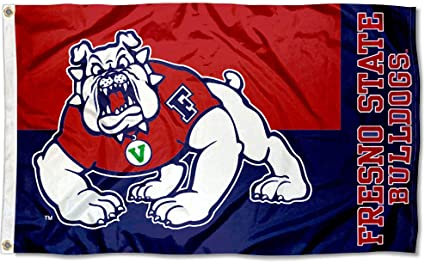 Fresno State Banner Flag FSU Double Sided