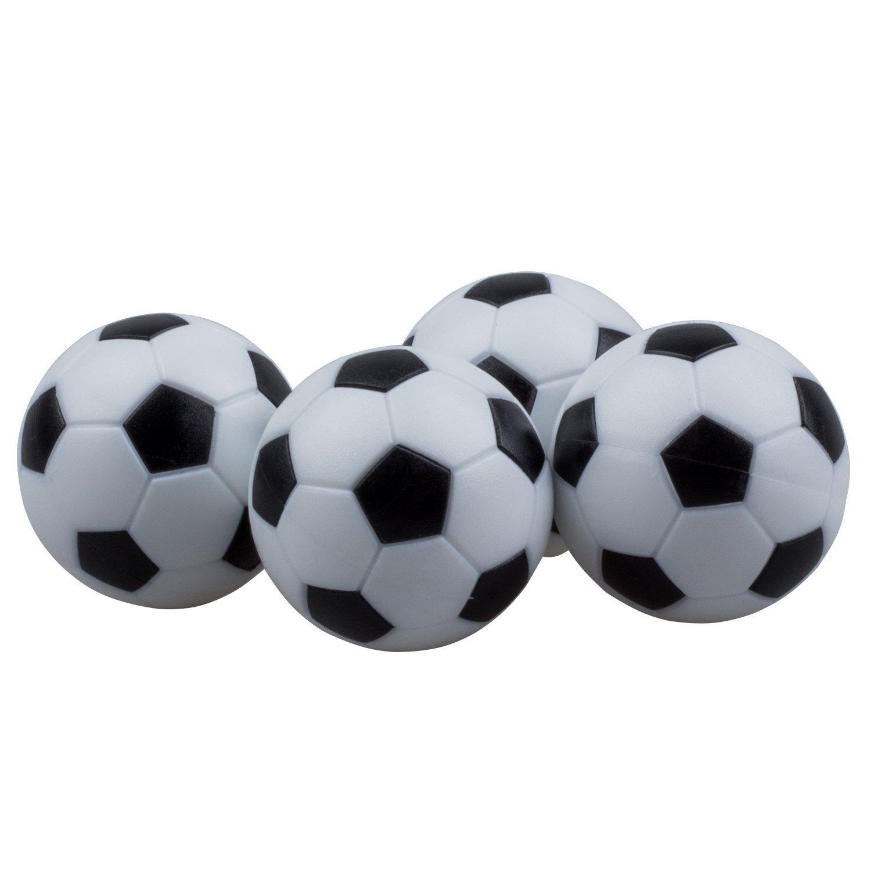 SODIAL 4pcs 32mm Plastic Soccer Table Foosball Ball Football Fussball R