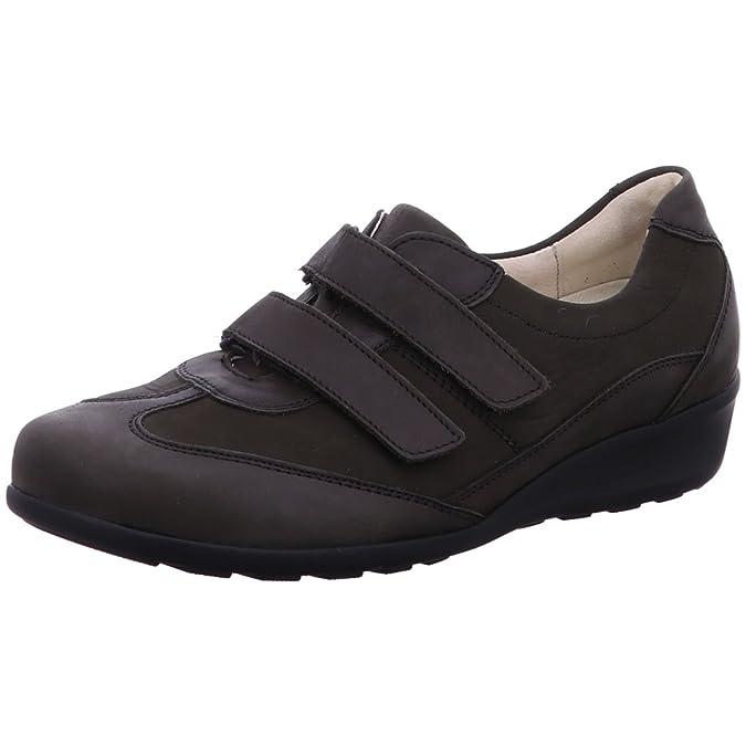 Waldläufer646302-301-014 Klivia - Mocasines Mujer, Color Gris, Talla 4,5: Amazon.es: Zapatos y complementos
