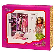 Our Generation Wooden Wardrobe for 18-Inch Dolls by Our Generation