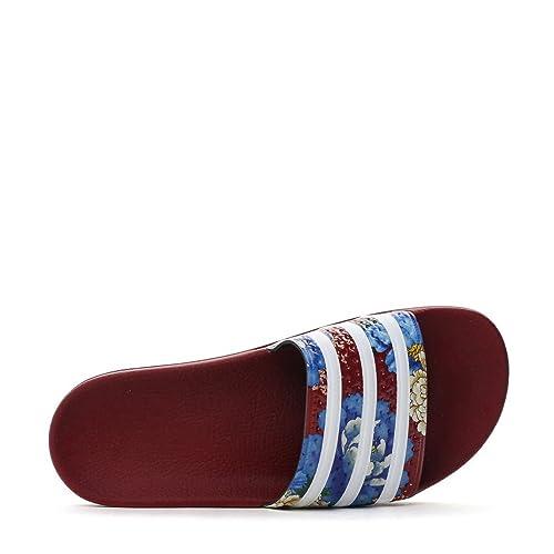 huge discount 85cd7 4b08a Adidas Women s Originals Adilette Slides (7) Red