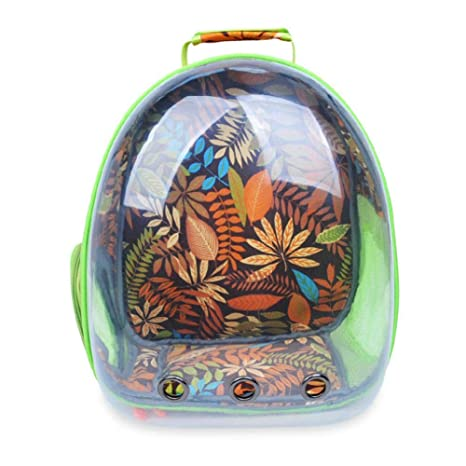 ab0f7ed181 Leegoal Pet Carrier Space Capsule Backpack, Astronaut Pet Cat Dog Puppy  Carrier Travel Bag Hiking
