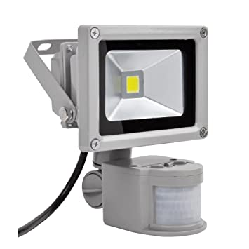 PrimLight Foco con Sensor de Movimiento 10W,Proyector Led Interior ...