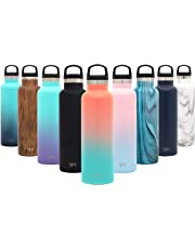 Simple Modern Ascent Water Bottle - Narrow Mouth, Vacuum Insulated, Double Wall, 18/8 Stainless Steel Powder Coated