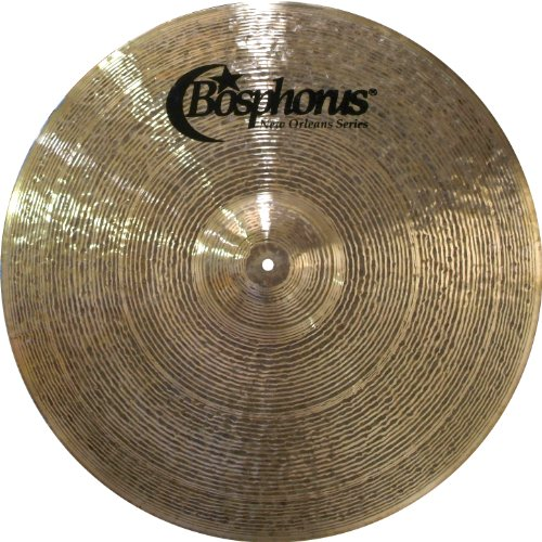Bosphorus Cymbals N18FR 18-Inch New Orleans Series Flat Ride Cymbal