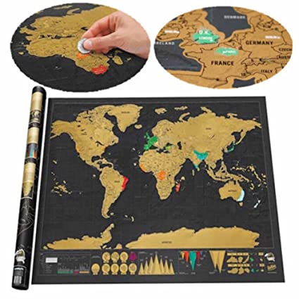 scratch off interactive world map large black gold edition world map poster 322
