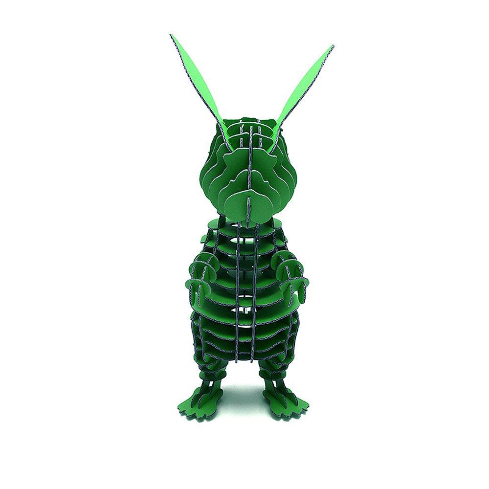 人気カラーの 用紙メーカーDIY Easter Bunny装飾3dパズル子供用うさぎモデルおもちゃ(グリーン) Easter B077P6BY2Y B077P6BY2Y, 日野郡:8683106e --- clubavenue.eu
