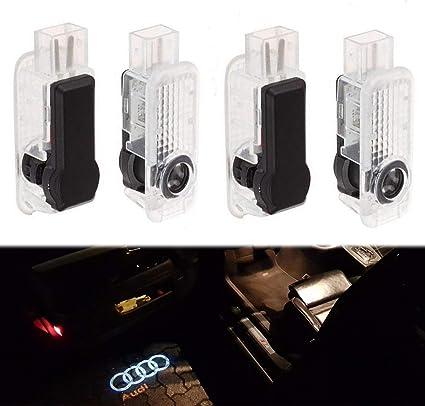 Excellent Albright (4 Piezas) LED proyector Puerta Logotipo de la ...