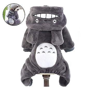 joizo Ropa de Abrigo 1pc Totoro Cambio Mascotas Appare de la Mascota del Traje de Invierno Totoro Cosplay del Mono Divertido para los pequeños Perros Medio ...