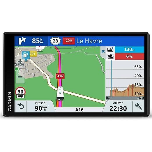 Garmin Camper 770 LMT-D - Navegador GPS con mapas de por Vida y tráfico (Pantalla de 7