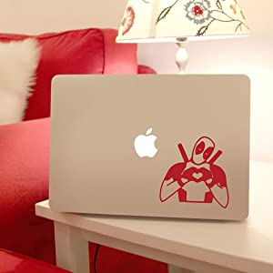 Deadpool Laptop Decal - for Apple Macbook, Trackpad Vinyl Sticker Decal, Antihero, Marvel
