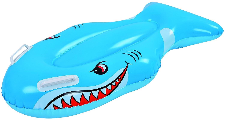 Saica Tiburón Hinchable para Uso en Playa y Piscina. Fashion Float. Fun, Unisex, Azul, Estándar