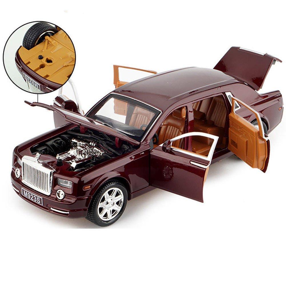 Model Cars For Sale >> 1 24 Rolls Royce Phantom Metal Diecast Model Car Toys Sound Light New In Box Red