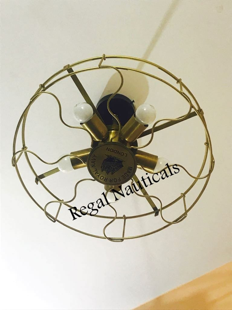 Ceiling Fan Pandent Vintage Industrial Edison Lamp Bar Restaurant Light