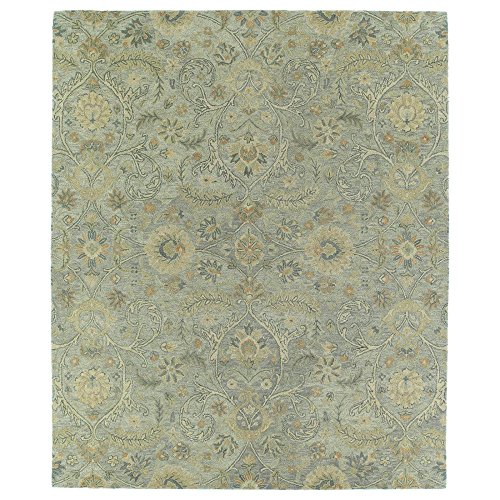 Kaleen Helena Collection Hand Tufted Area Rug, 4 x 6 , Silver