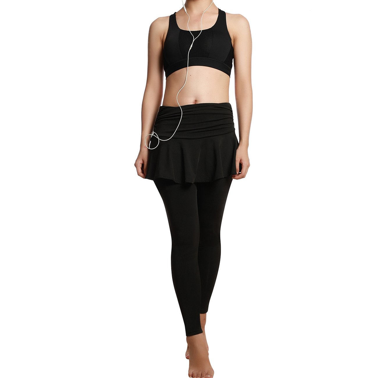 JIMMY DESIGN Damen Sport Leggings Yoga Pants