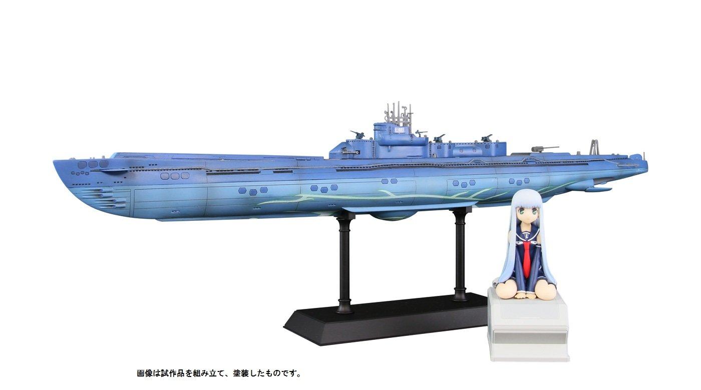 ぺあどっと 1/350 蒼き鋼のアルペジオ -アルスノヴァー 潜水艦 イ401 with イオナ ABS/PVC製 塗装済完成品 PD13 B00LHBPJY8