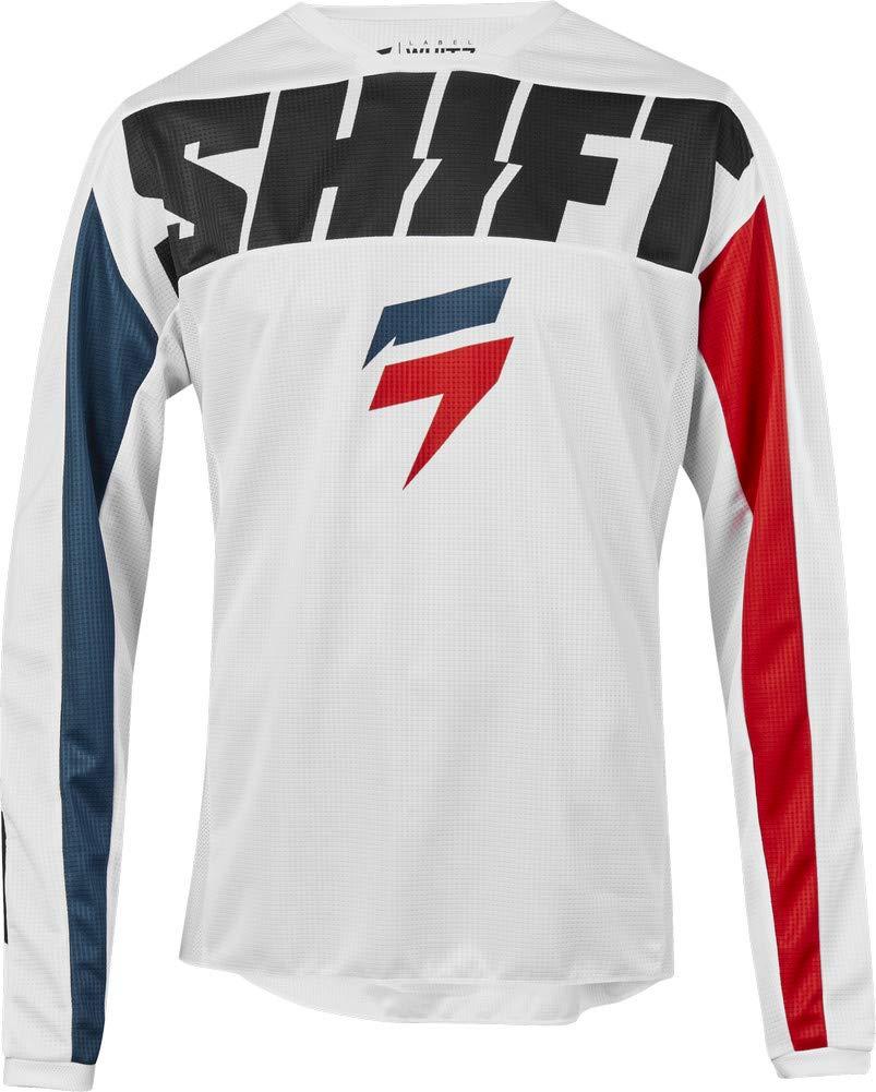 Shift 2019 White Label York Jersey-White-L