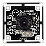 Spinel 720P USB Camera Module with Non-distortion Lens FOV 95 degree, Support 1280X720@30fps, UVC Compliant, Support most OS, Focus Adjustable, UC10MPA_ND